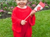 Canada Day Living Flag