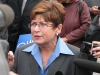 Judy Wasylycia-Leis Media Scrum