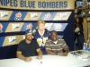 Khari Jones and Milt Stegall