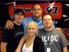 Dave Wheeler, Rena Jae, Hal Anderson and Phil Aubrey - Power 97