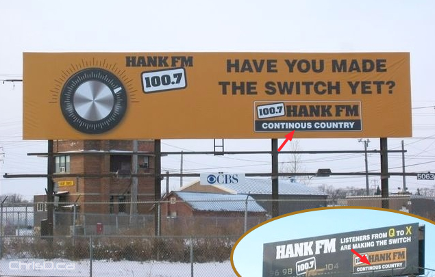 Hank FM Billboard Error