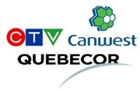CTV - Canwest - Quebecor
