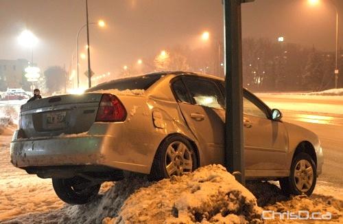 Pembina Highway Car Accident