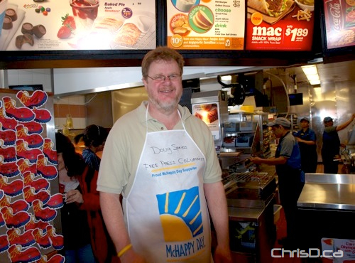 Doug Speirs - Free Press- McHappy Day 2009