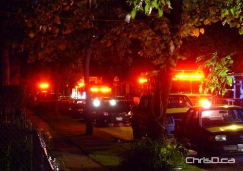 Banning Street House Fire