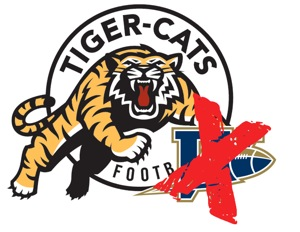 Hamilton Tiger-Cats - Winnipeg Blue Bombers