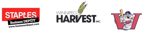 Staples - Winnipeg Harvest - Winnipeg Goldeyes