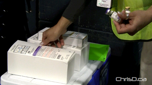 H1N1 Vaccine Cooler