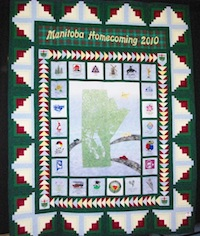 Manitoba Homecoming 2010 Quilt