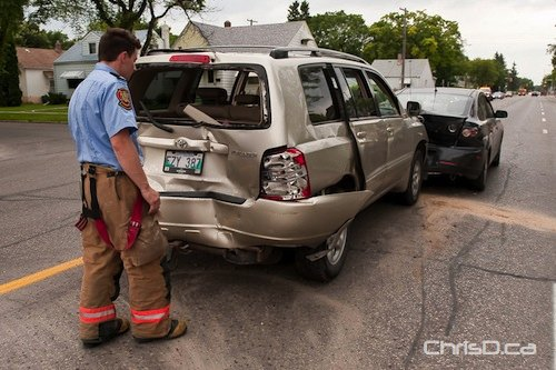 Car Accidnet Manitoba July