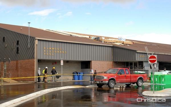 Wind Damage Closes Elmwood Kildonans Pool