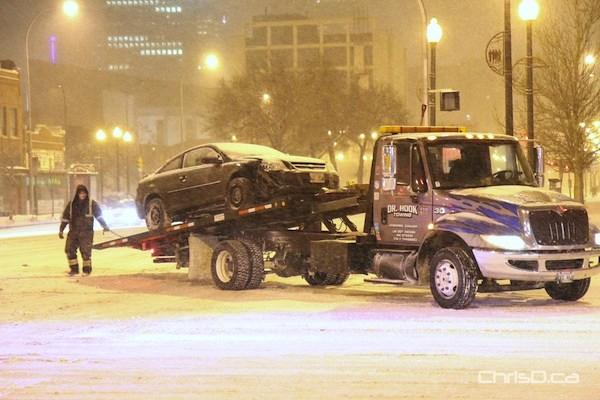 Main Street - Logan Avenue Accident