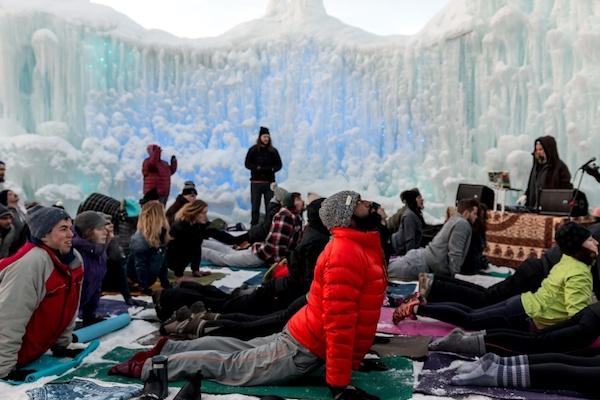 Hot Yoga Ice Castles