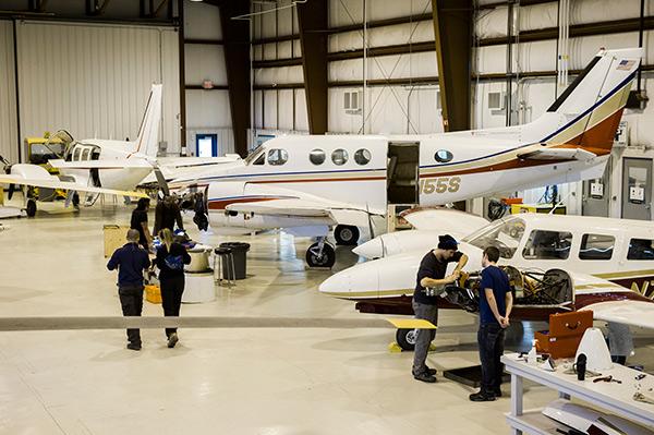 Red River College Stevenson Aviation Campus